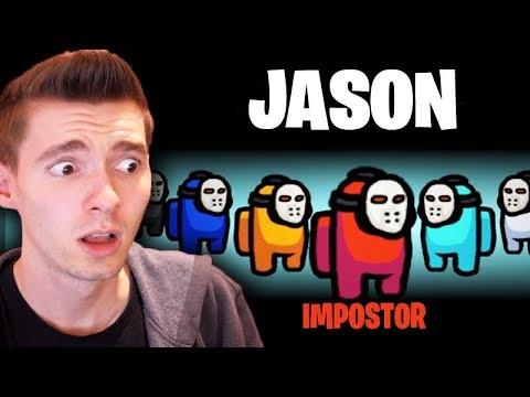 TODO MUNDO É O JASON IMPOSTOR!!! - Among Us (NOVA SKIN)