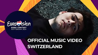 Gjon's Tears - Tout l'Univers - Switzerland 🇨🇭 - Official Music Video - Eurovision 2021