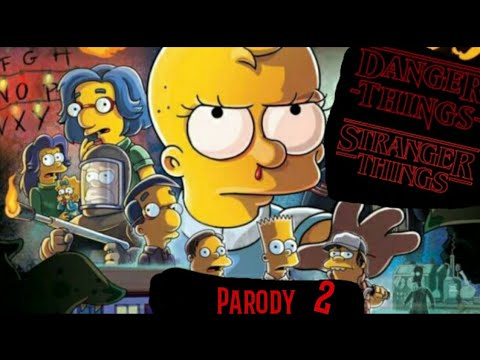 Simpsons Stranger Things Youtube