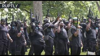 إطلاق نار خلال مسيرة بالسلاح في الولايات المتحدة