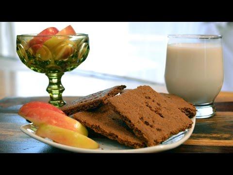 Gluten-Free, Dairy-Free Graham Crackers