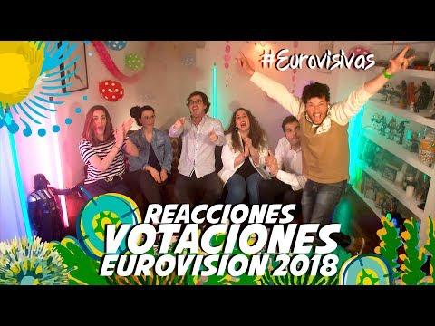 REACCIÓN VOTACIONES EUROVISIÓN 2018