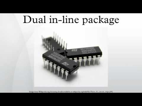 Dual in-line package