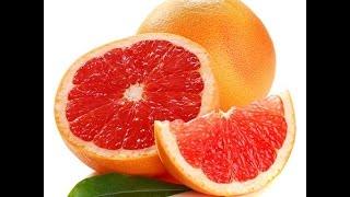 видео Полезные свойства грейпфрута. Калорийность, польза и вред грейпфрута
