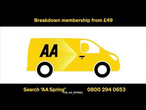 AA Breakdown membership from £49* a year