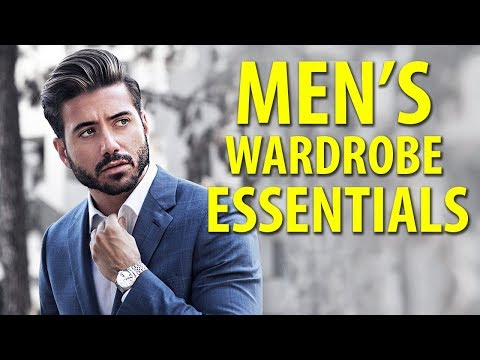 10 Things Every Man Needs in His Closet | Mens Fashion Essentials | Alex Costa