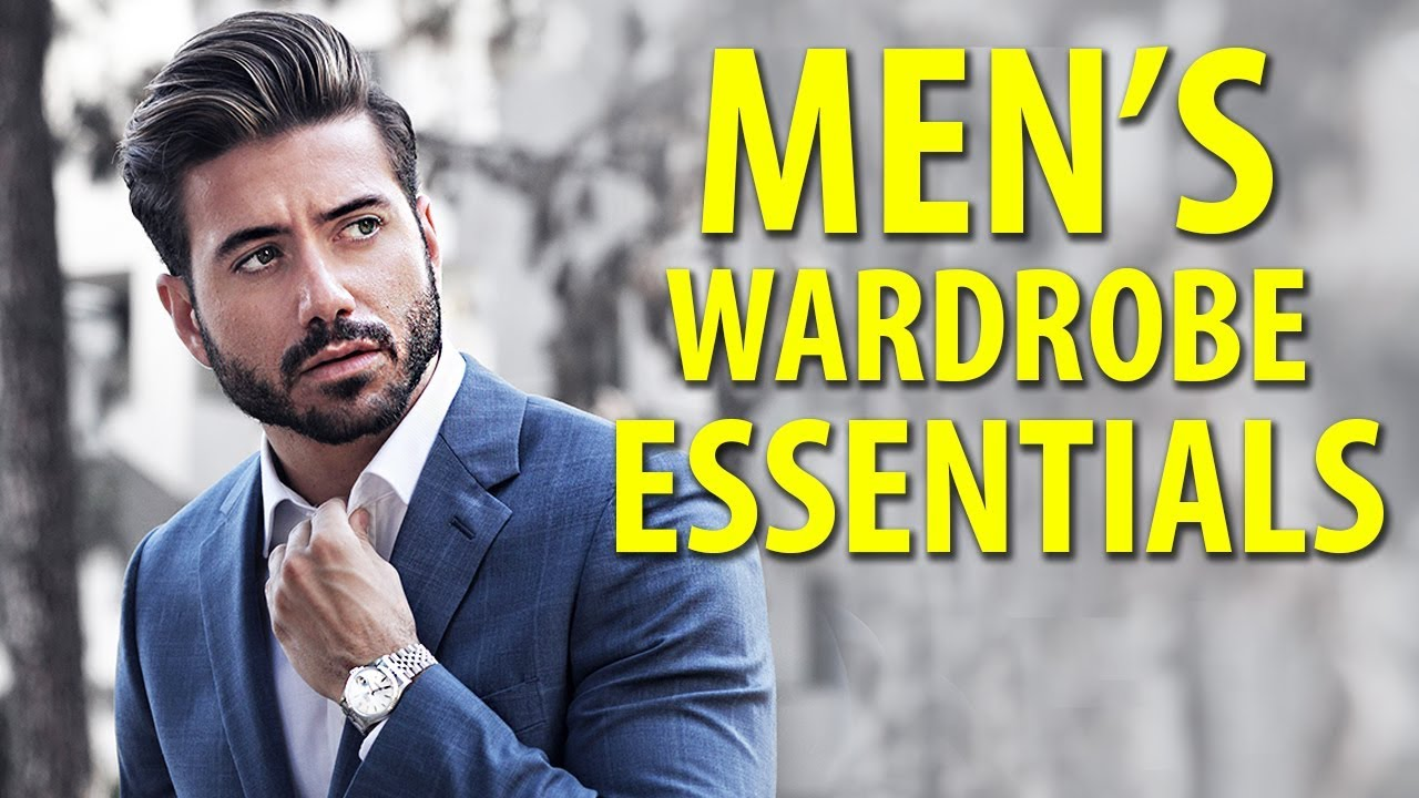 10 Things Every Man Needs in His Closet | Men's Fashion Essentials | Alex Costa