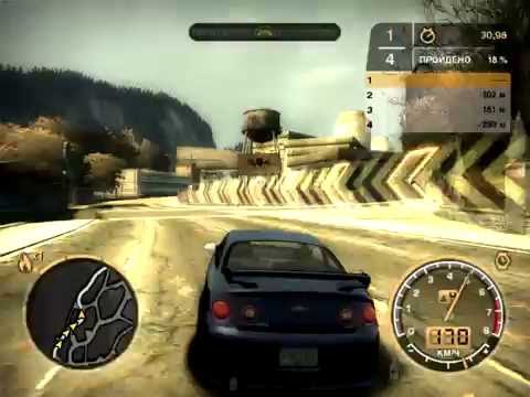 Спринт на Chevrolet Cobalt SS #2  [Need for Speed: Most Wanted]