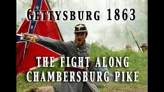 Civil War 1863 - Gettysburg July 1st - The Opening Attacks