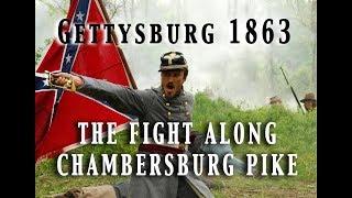 civil war 1863 gettysburg july 1st the opening attacks