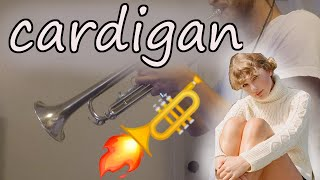 cardigan - Taylor Swift (Trumpet Cover)