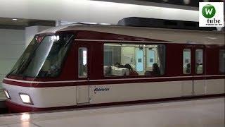 西鉄8000形特急 福岡(天神)駅出発~5000形ライト点灯 2011年秋 Nishitetsu Tenjin Omuta Line