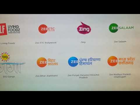Zee Family Pack Channel List And Price Youtube