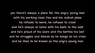 Prelude/Angry Young Man - Billy Joel Lyrics [on screen]