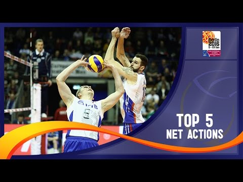 2016 European Olympic Qualification - Men - Group Stage Top Net Actions