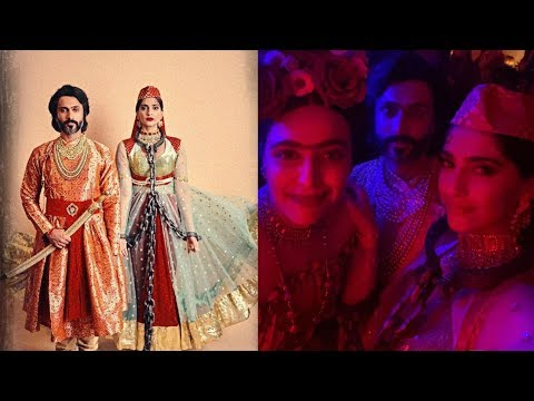 Sonam Kapoor and Anand Ahuja look so sweet as Salim and Anarkali celebrating Halloween Day ! Mp3