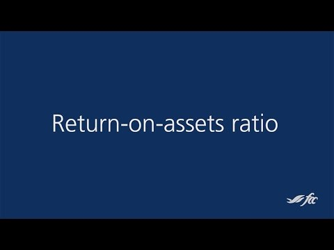 Calculating your return-on-assets ratio
