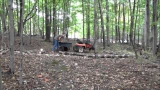 Finishing Tiny Home Window Framing And Cutting Firewood S24