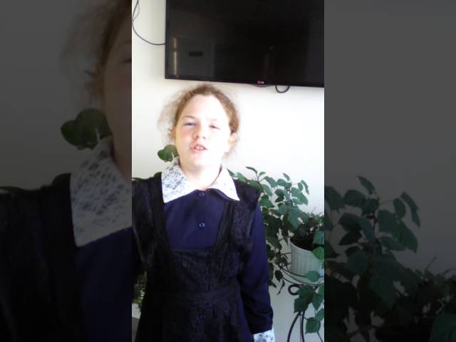 Ольга Пушкина читает произведение «Слово» (Бунин Иван Алексеевич)