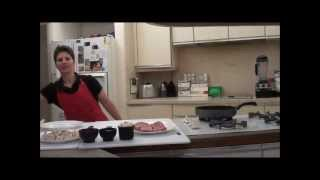Diabetic Gourmet Steak Dinner Recipe - How To Make A Red Wine Reduction
