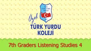 7th Graders Listening Studies 4