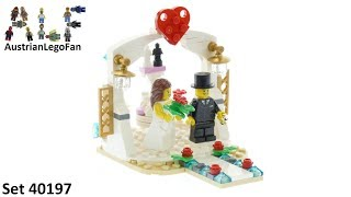 Lego 40197 Wedding Favor Set 2018 - Lego Speed Build Review
