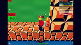 Super Mario Bros.1 Roblox Version