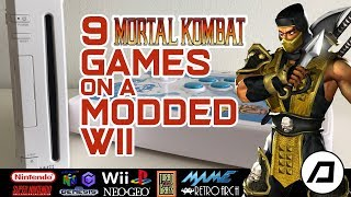 9 Mortal Kombat Games On A Modded Wii