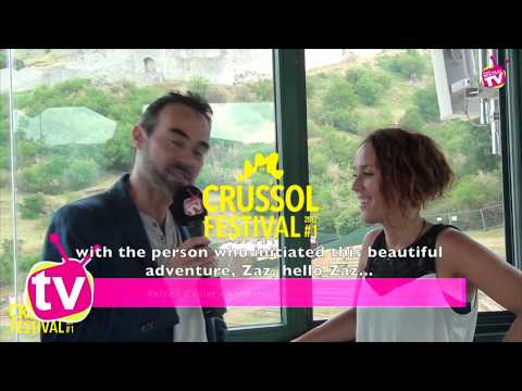 ZAZ Interview at Eco-festival - Crussol -  English subtitles