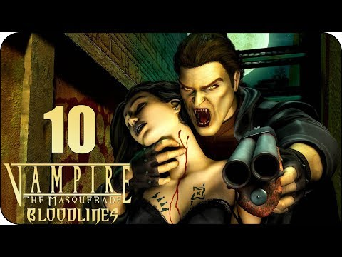 🔶Vampire: The Masquerade - Bloodlines | Рождение вампира | #10🔶