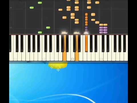 Boogie woogie bugle boy   Andrew Sisters [Piano tutorial by Synthesia]