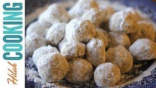 Mexican Wedding Cookies Recipe - Polvorones