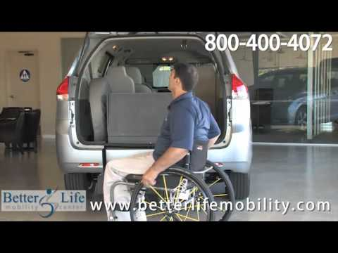 2011 Toyota Sienna Wheelchair Accessible Mobility Van Demo