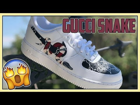 Gucci Air Force One