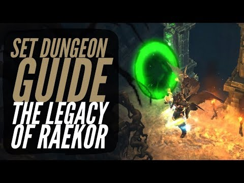 Diablo 3 - Barbarian - The Legacy of Raekor - Set Dungeon Guide