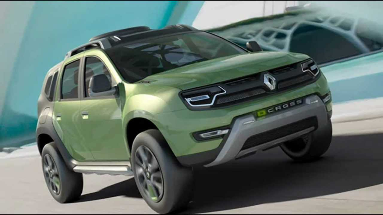 2012 Renault Duster DCross Show Car - YouTube