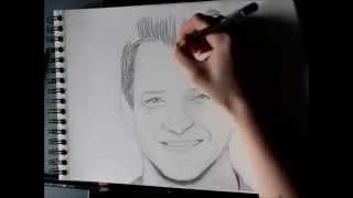 Rocky Skully Girl - Ian Bohen Speed Drawing