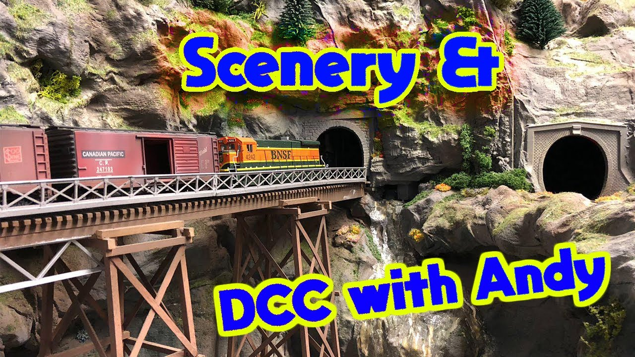 #31 Scenery and DCC with Andy Ambrose