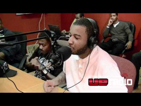 yfame and cuzzin lil freestyle @ UE Radio