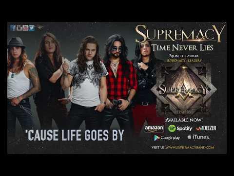 SUPREMACY - Time Never Lies (Lyric video)