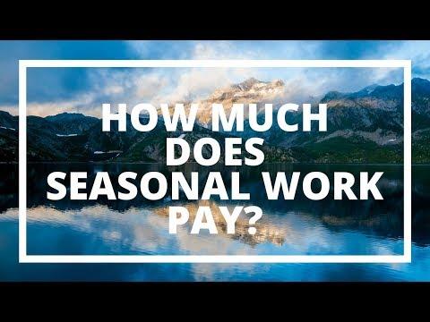 How Much Do Seasonal Jobs Pay?