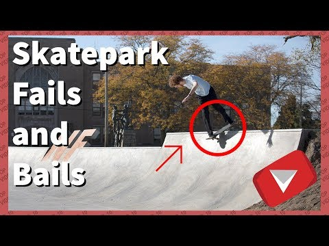 Skatepark Fails Compilation | Wipeout Compilation [2017] (TOP 10 VIDEOS