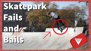 Skatepark Fails Compilation   Wipeout Compilation [2017] (TOP 10 VIDEOS