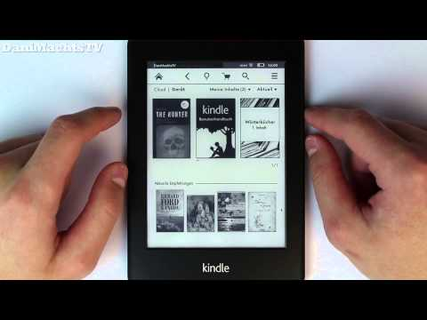 Amazon Kindle Paperwhite Review German Deutsch [Full HD]