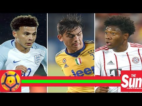 Real madrid add paulo dybala and david alaba to dele alli interest as they target big-name moves ne - Duur: 3:23.