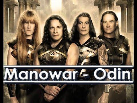Manowar - Odin Lyrics ( Sub Español / Ingles ESP ING Subtitulado ) Subs