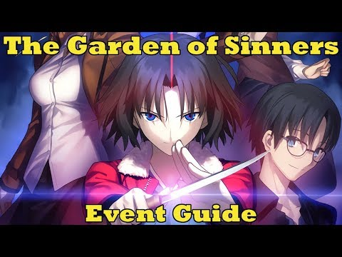 Garden of Sinners Event Guide - Fate/Grand Order