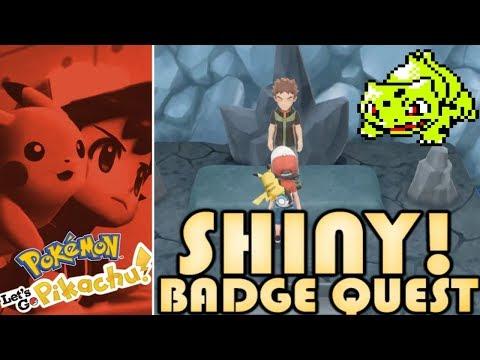 Pokemon Let's Go Pikachu: Shiny Badge Quest - The Boulder Badge