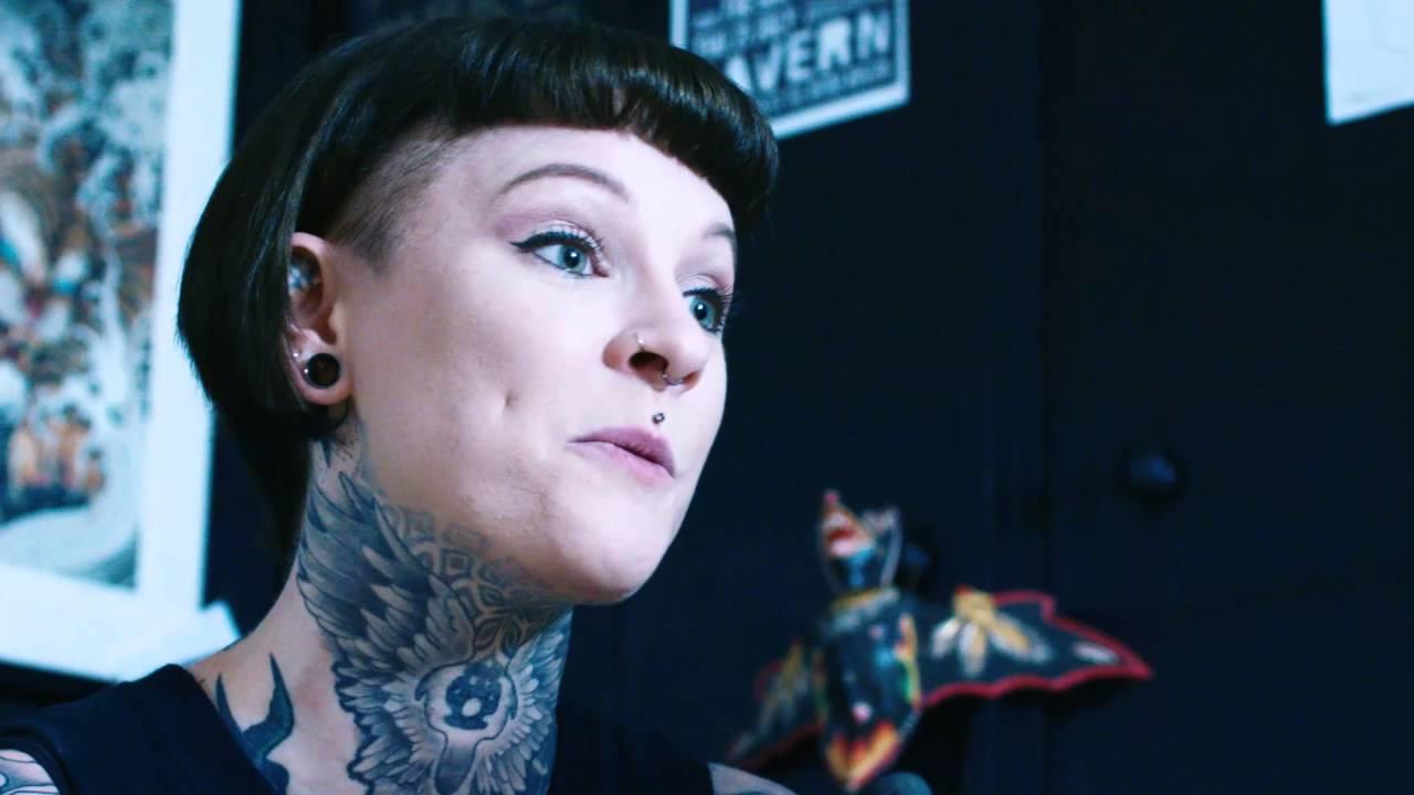 Tattoo artist Lou Hopper talks to Beauty & Ruin magazine