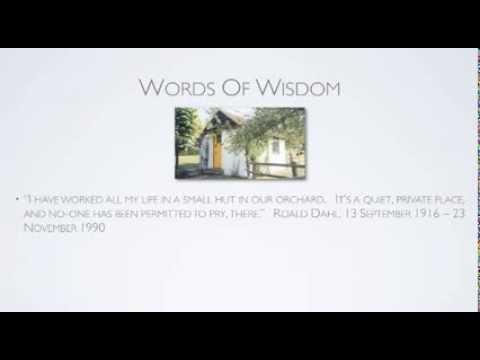 13th September 2013 Teaser Roald Dahl